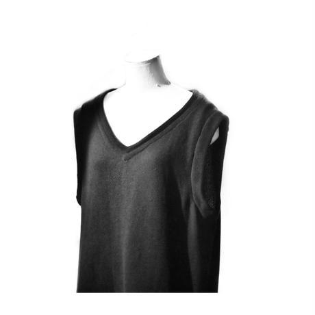 """Jean van Griniche """"seed stitching vest cutsew"""""""