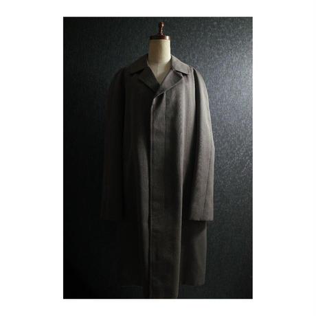British 50's-60's chambray gabardine coat