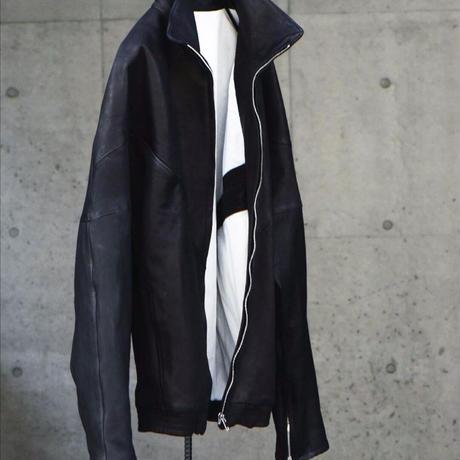 "WILDFRÄULEIN71 ""leather dolman sleeves jacket"""