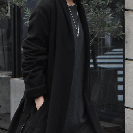 """Subtile 2021-22 f/w collection look.4 """"Amish gown coat"""""""