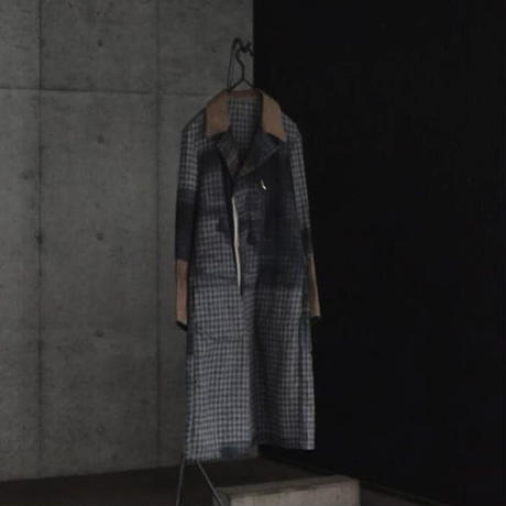 """WILDFRÄULEIN71 NYFW 2017-18f/w """"chester coat"""" pirint ver."""