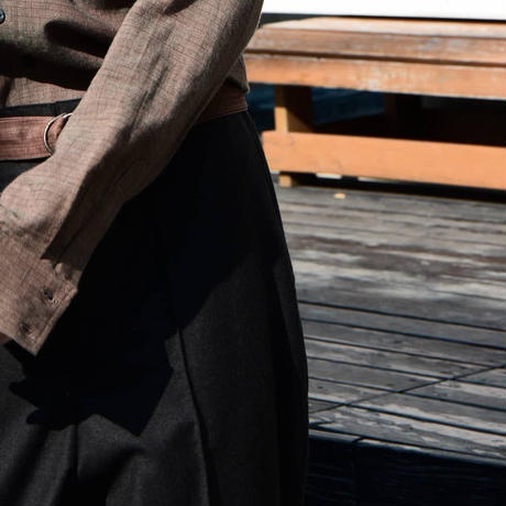 "WILDFRÄULEIN71 ""block check chambray shirt"""