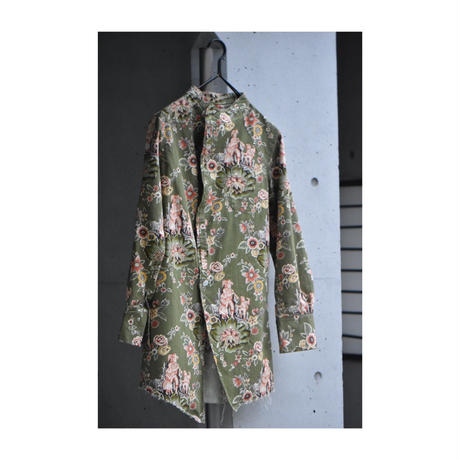 """WILDFRÄULEIN71 """"french 19th antique fabric shirt coat"""""""