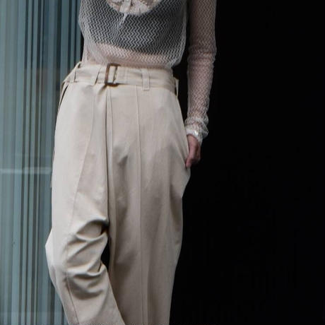 """WILDFRÄULEIN71 2021s/s """"chino lunch pants"""""""