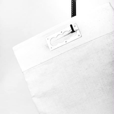 """WILDFRÄULEIN71 """"clutch bag brass white"""" painted ver."""