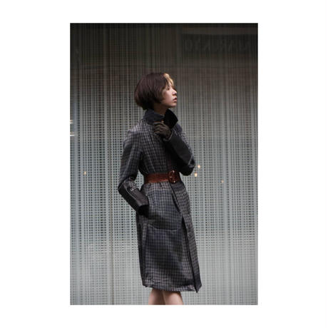 "WILDFRÄULEIN71 NYFW 2017-18f/w ""chester coat"" pirint ver."