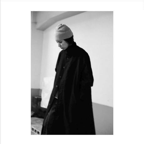 """Jobi fret roop 2020-21 f/w """"balmacaan coat black"""""""