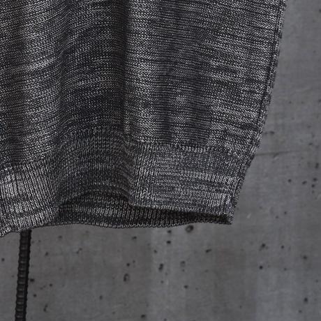 """WILDFRÄULEIN71 2021s/s """"metal knit vest"""""""