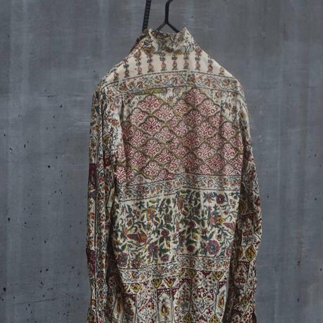 """Hankes """"Batik flower hands printed shirt"""""""