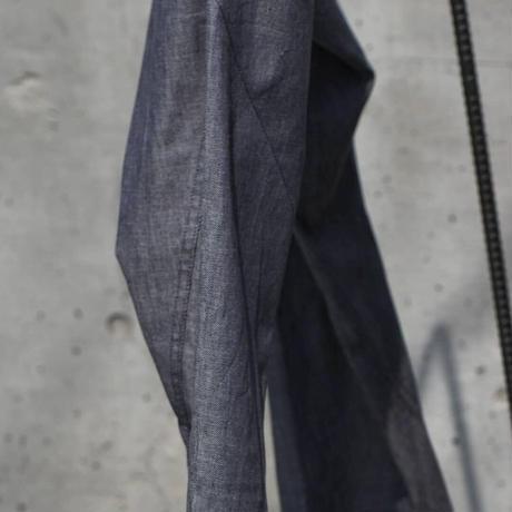 """WILDFRÄULEIN71 """"twisted paper denim trouser"""""""