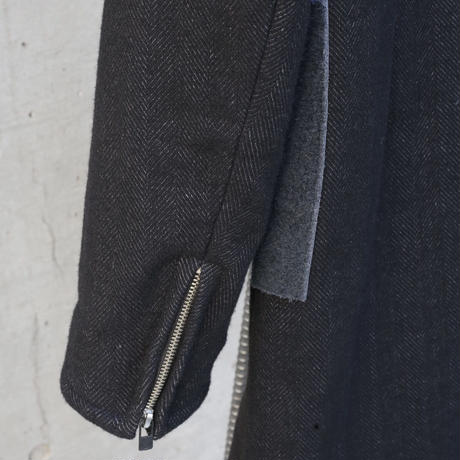 """WILDFRÄULEIN71 2021ss """"imported wooly fabrics high end middle chester coat"""""""