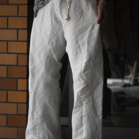 "WILDFRÄULEIN ""silk linen yarn back satin easy trouser"""