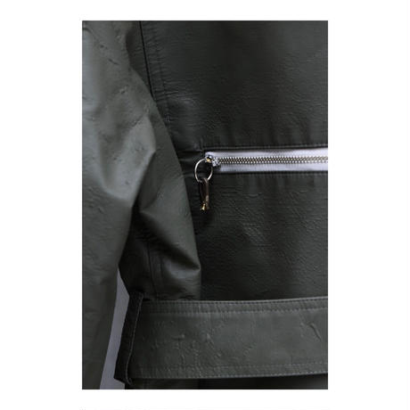"WILDFRÄULEIN71 2020-21 f/w ""vintage military fabric filled jacket"""