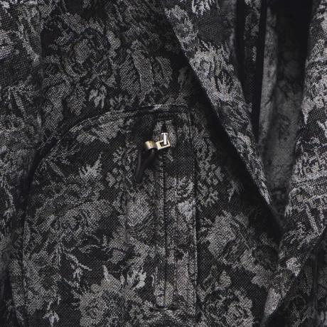 "WILDFRÄULEIN ""flower Jacquard safari tailored jacket"""