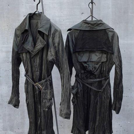 "Jobi fret roop ""covid-19 protect trench coat"" overdye ver"