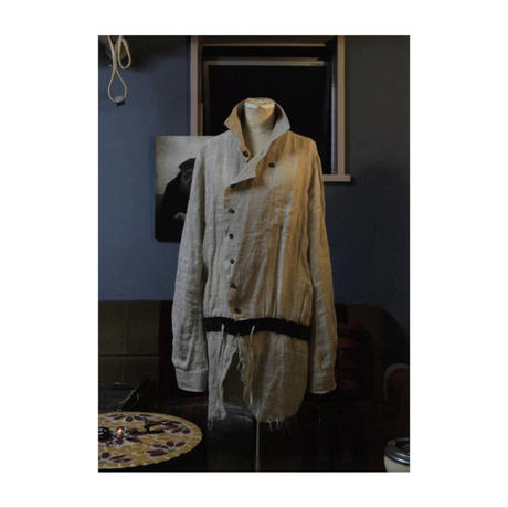 "Roop fret ""chinese gauge shirt coat"""