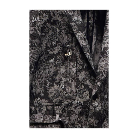 "WILDFRÄULEIN71 2020-21 f/w ""flower Jacquard safari tailored jacket"""