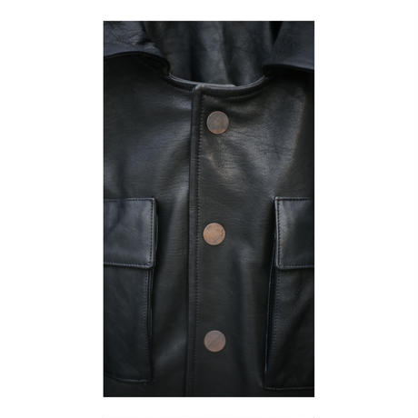 "Jobi fret roop 2020-21 f/w ""leather coveralls"" 1点物"