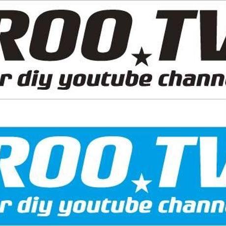 ROO★TVステッカー