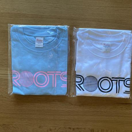 ROOTS T-shirts [White × Black]