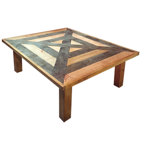 X PATCHWORK LOW TABLE - 2 seater