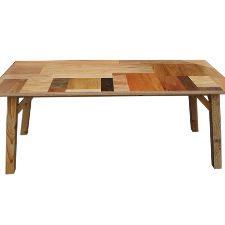 PATCHWORK LOW TABLE – 4 seater