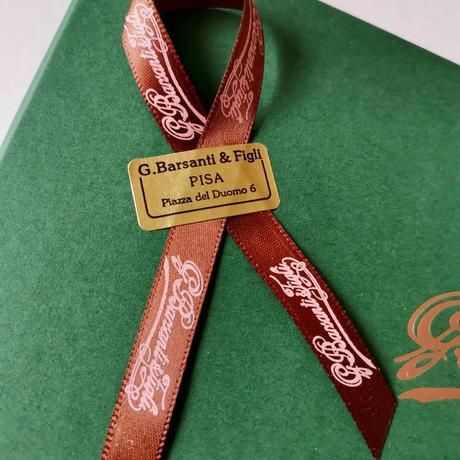 バルサンティ イタリア製 コモシルクスカーフ フィオーレ ラベンダー 小判 50x50