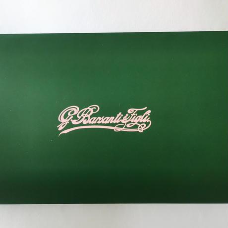 バルサンティ イタリア製 スカーフネックレス (ラインストーンフック)レオパード イエロー