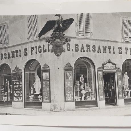 バルサンティ イタリア製コモシルクスカーフ モネフォレスト 85x85