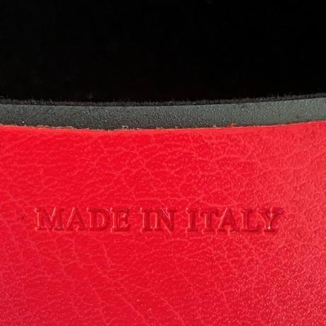 バルサンティ イタリア製 ソフトメガネケース ゼラニウムレッド