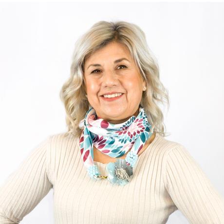 バルサンティ イタリア製 スカーフネックレス(コサージュ)ライトブルー