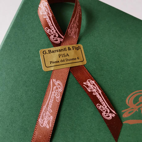 バルサンティ イタリア製コモシルクスカーフ モネバイオレット 85x85