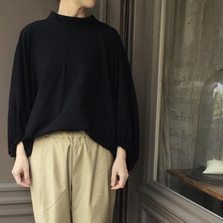 SI-HIRAI  ドレープカフTシャツ