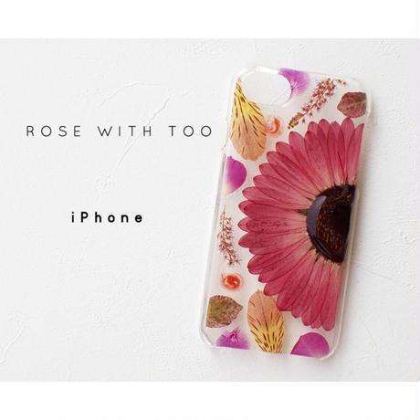 【リング不可】iPhone / 押し花ケース20190710_1