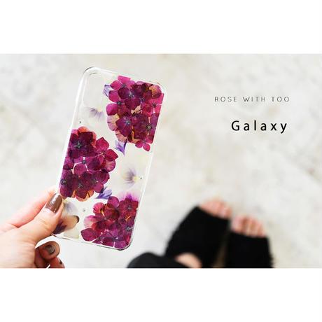 Galaxy /   押し花スマホケース  200701_2