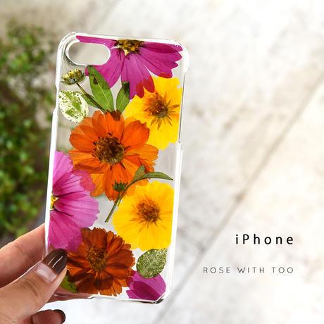 iPhone / 押し花ケース 201007_3