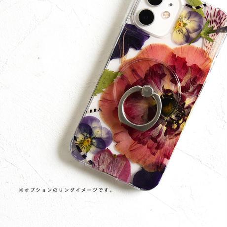 Galaxy /   押し花スマホケース  210120_10