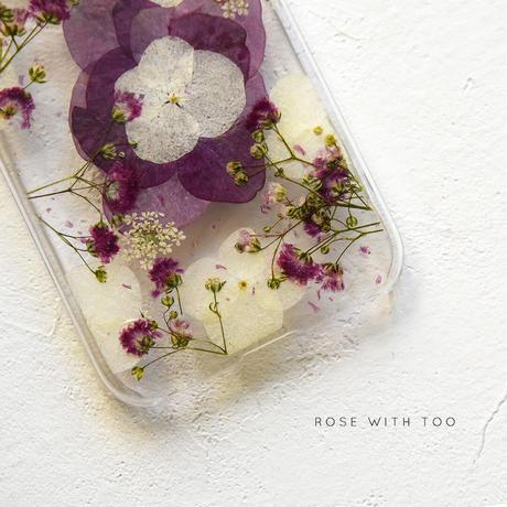 iPhone / 押し花ケース 201111_1