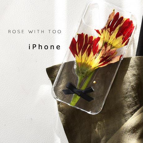 【リング不可】iPhone / 押し花ケース 201202_3