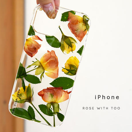 iPhone / 押し花ケース 210901_3