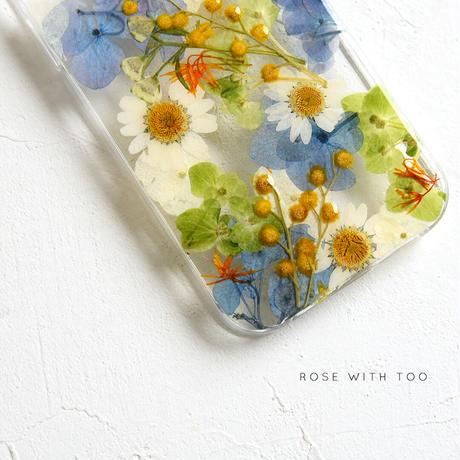【リング不可】iPhone / 押し花ケース 210210_1