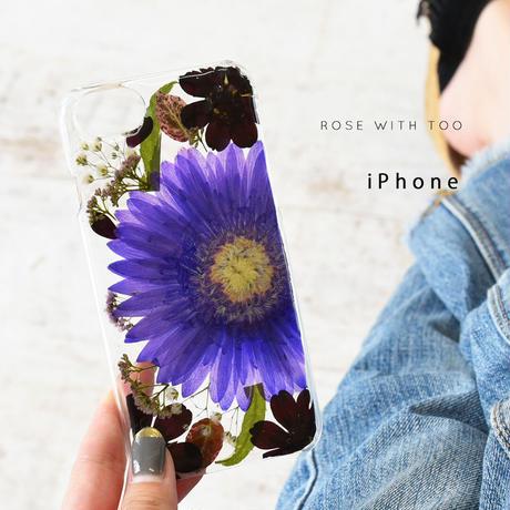 【リング不可】iPhone / 押し花ケース 200909_5