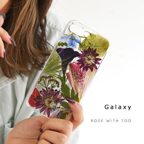 Galaxy /   押し花スマホケース  201111_4