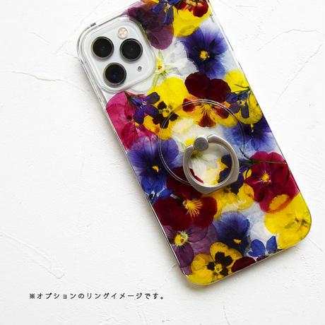 Galaxy /   押し花スマホケース  210616_6