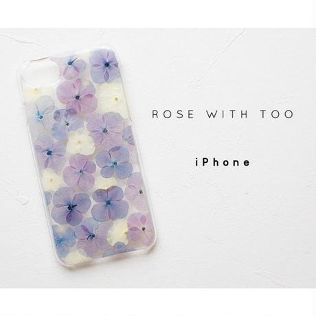 iPhone / 押し花ケース20190703_3