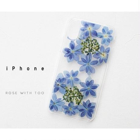 iPhone / 押し花ケース20190703_1