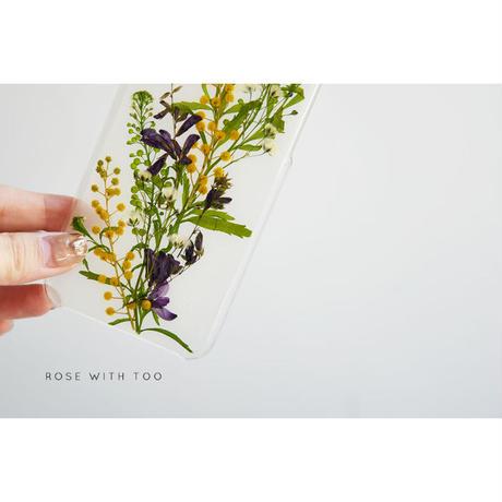 iPhone / 押し花ケース 20200325_7
