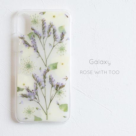 Galaxy / 押し花 スマホケース0327_3