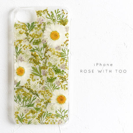iPhone / 押し花ケース 20190618_2