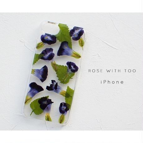 iPhone / 押し花ケース20191106_3